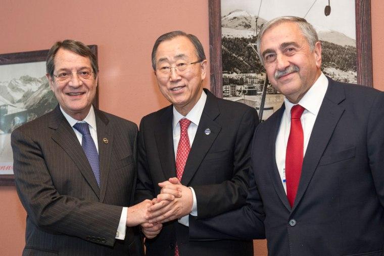 Davos-Cyprus-Ban ki Moon