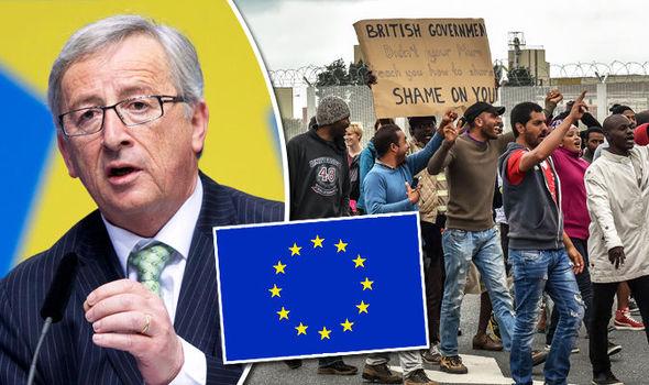 Jean-Claude-Juncker-EU-flag-migrant-crisis-604171