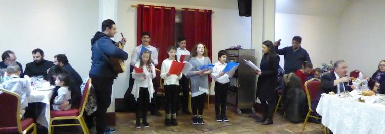 St Demetrios school choir