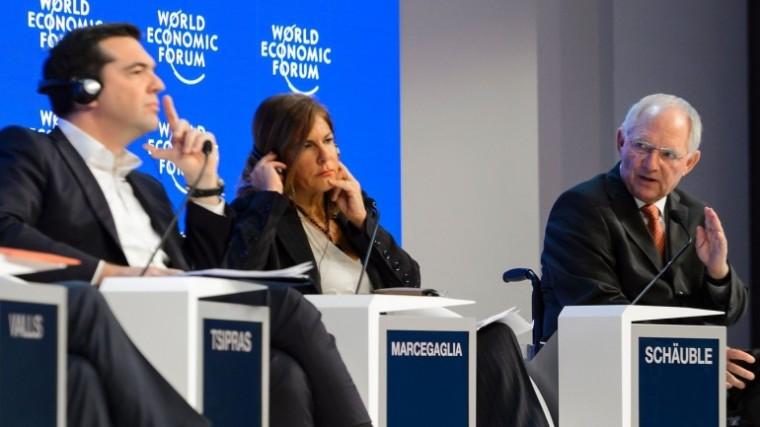 tsipras-schauble, Davos16