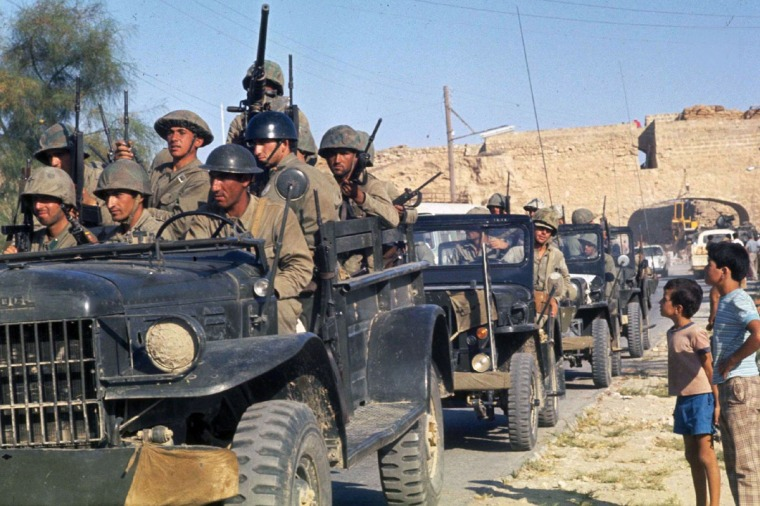 Attilas-August 1974 town of Famagusta