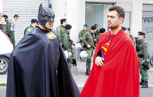 Batman-superman-Athens