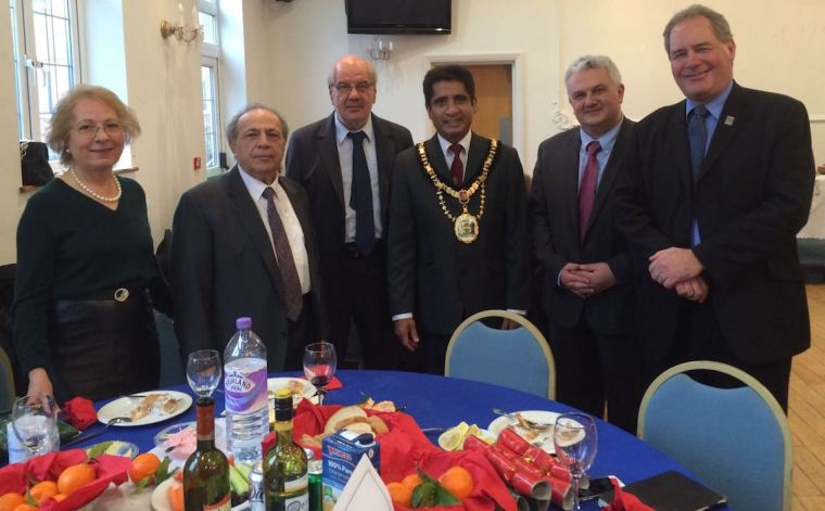 Harrow-New. Years Lunch1