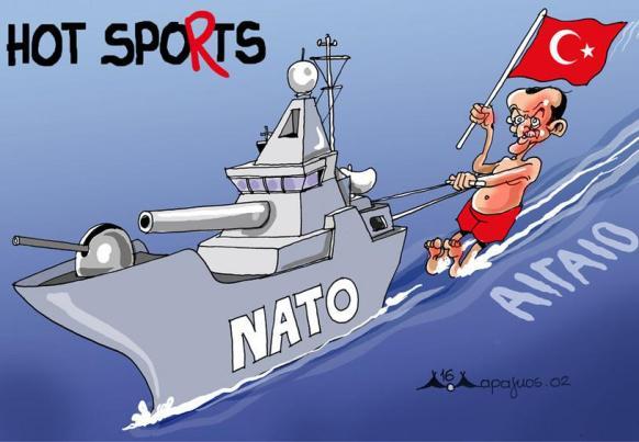 Hot spots-NATO-Turks