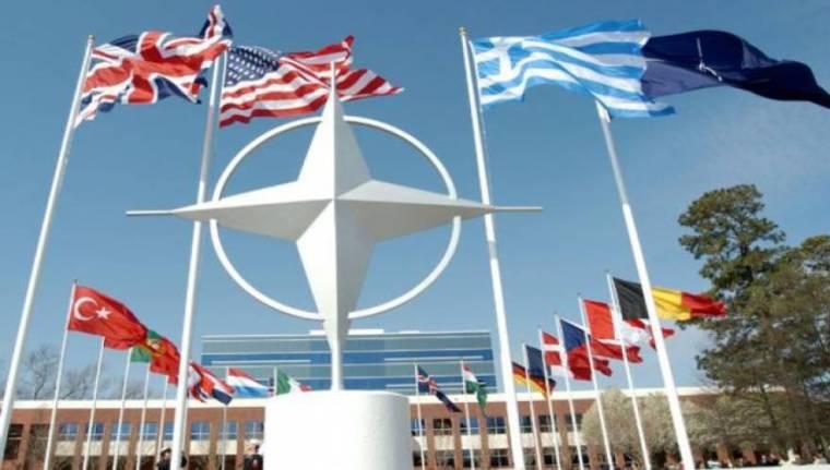 NATO-flags