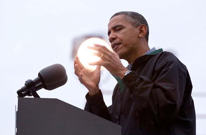 Obama crystal ball
