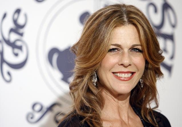 Actress Rita Wilson arrives at the 17th Carousel of Hope Ball benefiting the Barbara Davis Center for Childhood Diabetes in Beverly Hills, Calif., on Saturday, Oct. 28, 2006. (AP Photo/Matt Sayles)