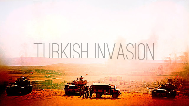 SYRIA-Turkish invasion