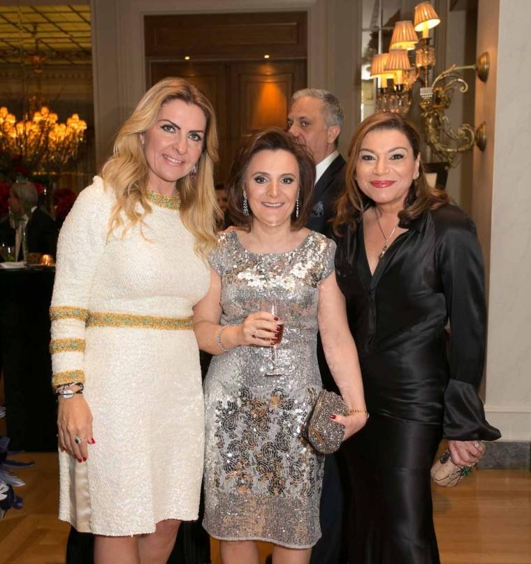 Zela Christodoulides , Yioula Araouzos, Lia Tornaritis