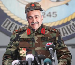 Akinci soldier