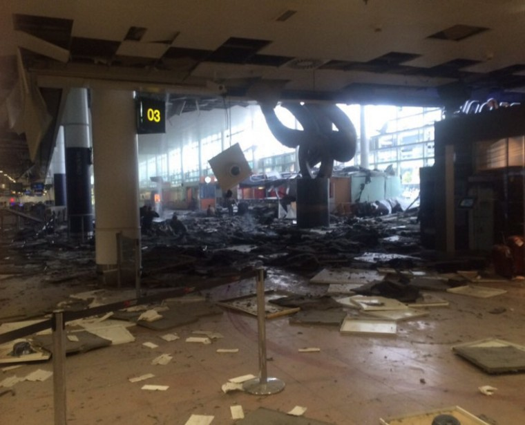 Brussels bomb-airport