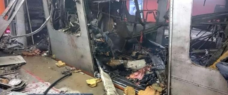 Brussels bombs-train