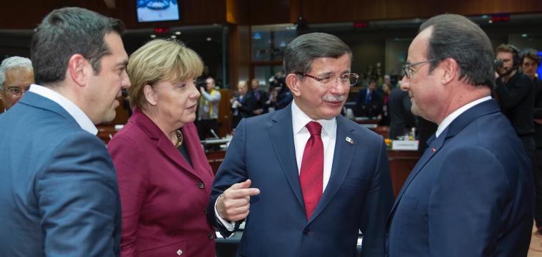Davutoglu-Merkel-Holland-Tsipras