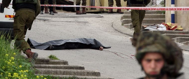 Israel Suspends Soldier Shot Downed Palestinian in Head