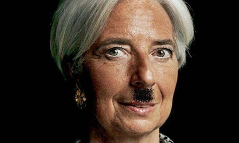 Langarde Hitler moustach