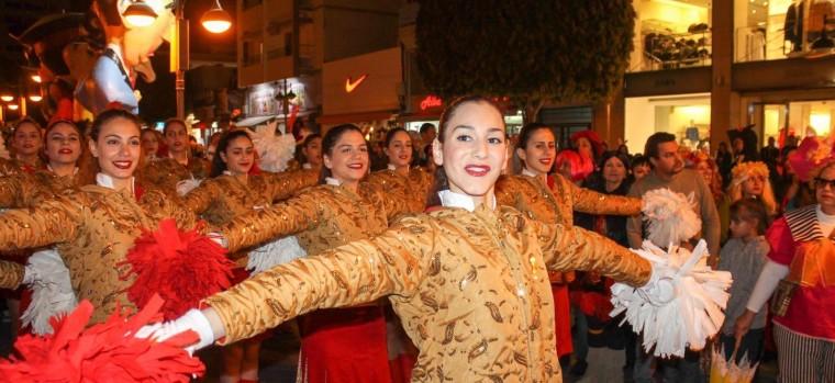 Limasol carnival-μαζορέτες