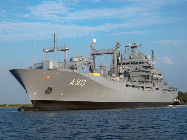 NATO warship