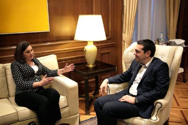 Victoria Nuland-Tsipras