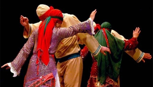 Alevi dancers-Turkey