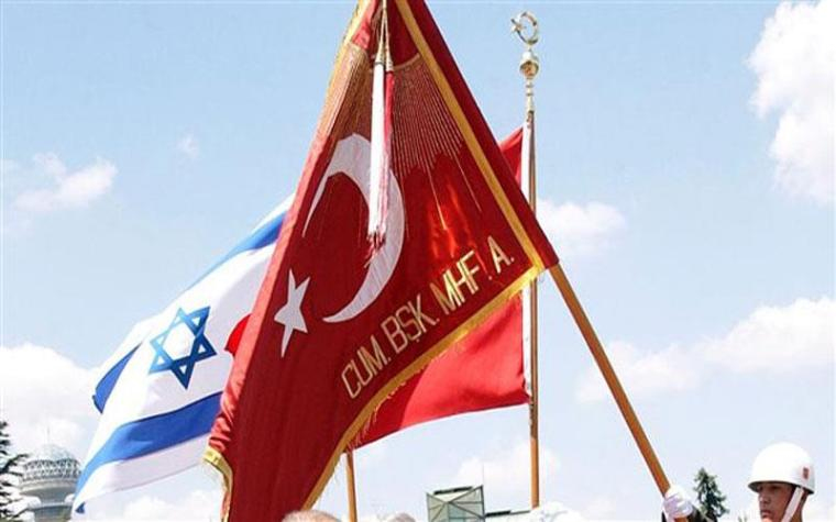 Israeli-Turkish flags