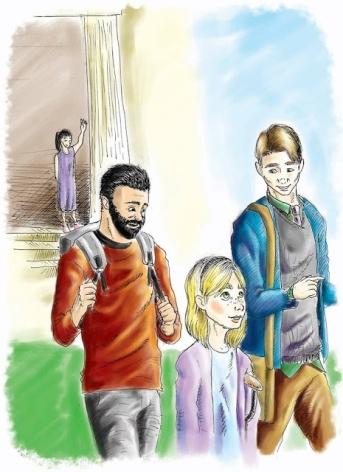 little girl-gay parents
