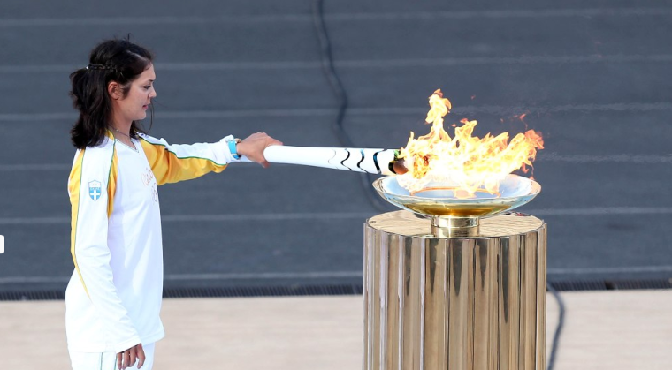 olympic Flame-Rio16A