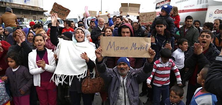Pireas-Mama Merkel