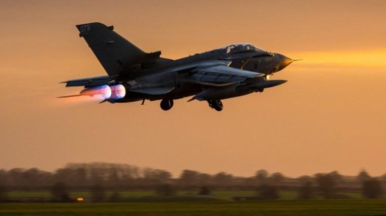RAF plane