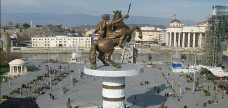 Skopje-αγαλμα 2014