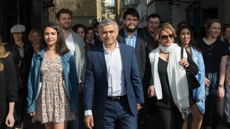Sadiq Khan-wins London