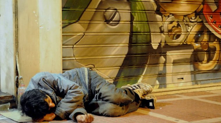 Athens-young homeless1