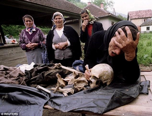 Bosnia dead bones