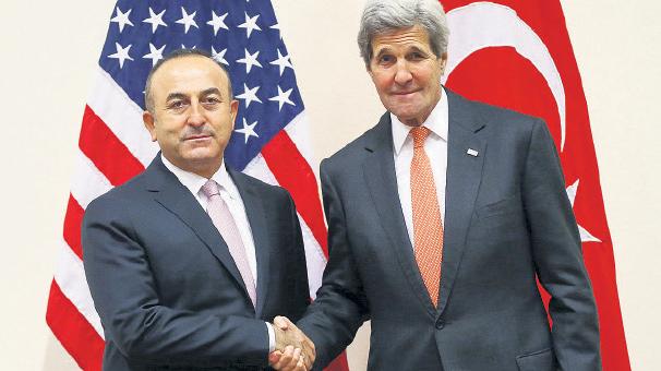 Mevlüt Çavuşoğlu-John Kerry