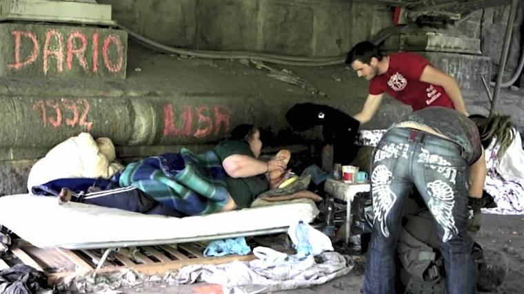 homeless Italy