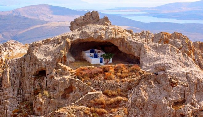 Limnos-church in rock