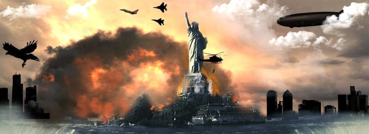 NWO-statue o liberty