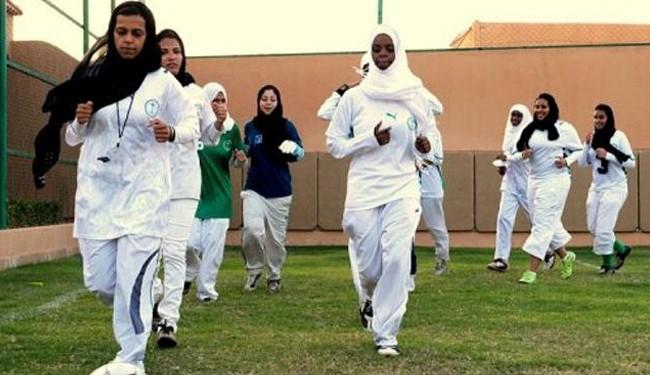 Saudi school girls are sporting