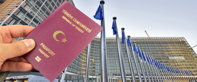 Turkish passport-EU Brussels