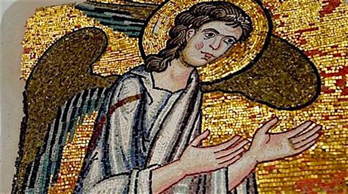 Bethlehem-angel mosaic