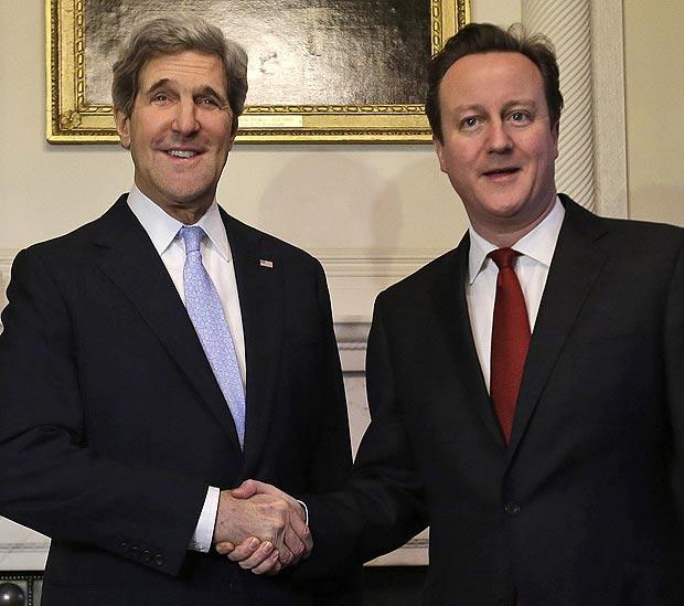 David Cameron - John Kerry
