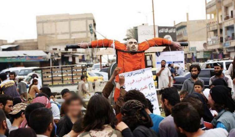 hanged by ISIS2