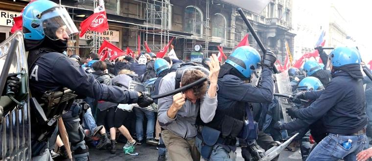 Paris violent protest1