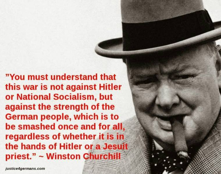 churchill quote-Germans