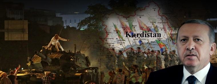 Erdogan-coup collage