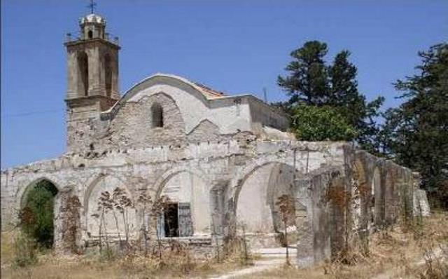 ναός του Αγ. Αυξεντίου στην Κώμη Κεπήρ