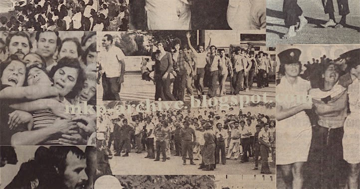 Cyprus POW return 1974