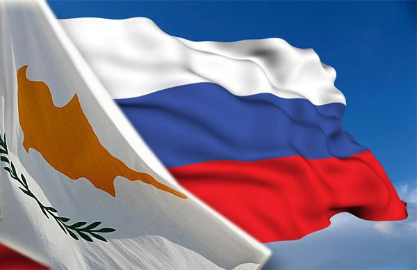 Cyprus-Russian flags
