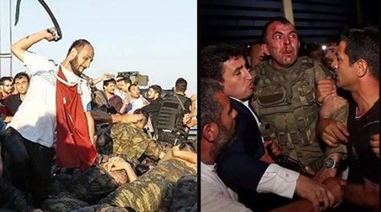 turkish coup-brutal