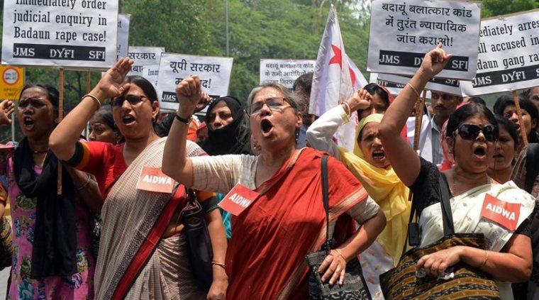 India, rapes, protest