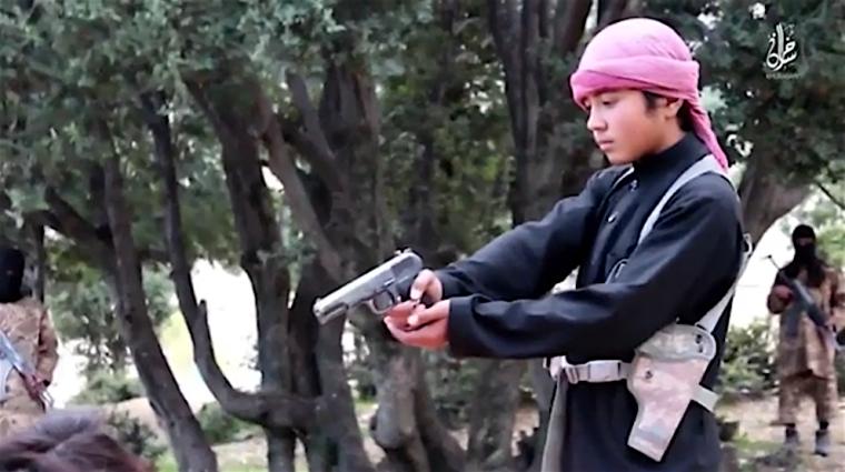 ISIS boy executioner